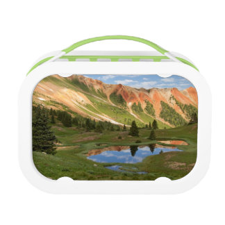 Red Mountain Reflection Lunch Box