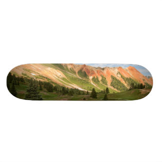 Red Mountain Reflection Skateboard Deck
