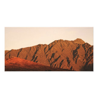 Red Mountains Custom Photo Card