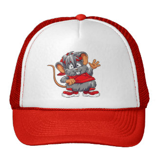 Red Mouse Trucker Hats