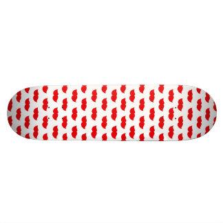 Red Moustaches Skate Decks