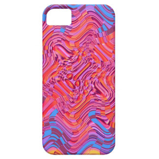 Red multi blotch case for the iPhone 5
