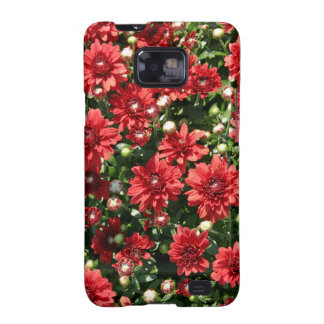 Red Mums Samsung Galaxy S2 Cases