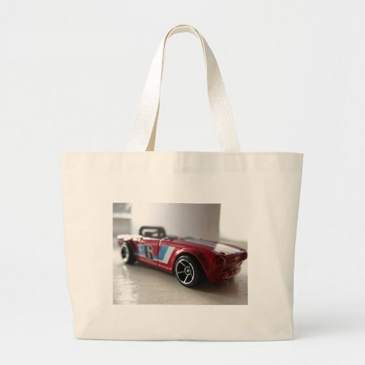 Red Muscle Car Toy Bag