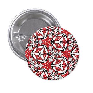 Red Mushroom Badge Pins