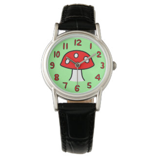 Red Mushroom Watch (Adult)