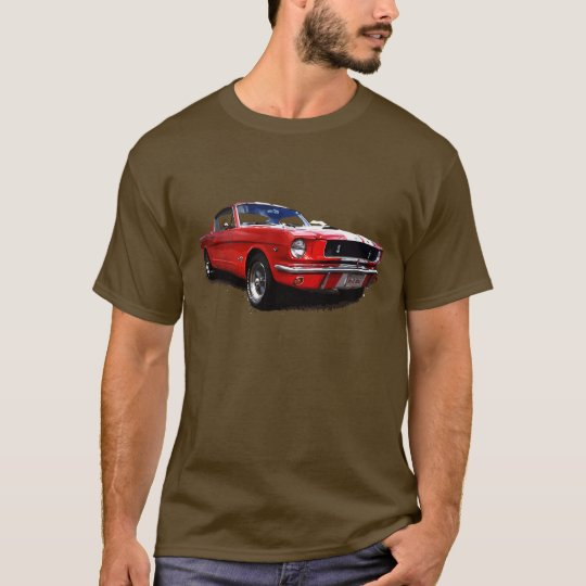 Red Mustang T-shirt