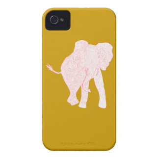 Red/Mustard iPhone 4 Case
