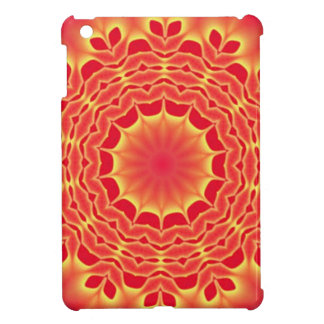 Red Mystery, Mandala Art iPad Case