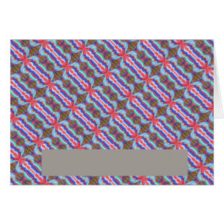 Red n Blue Light Sparkle Filament Pattern Cards