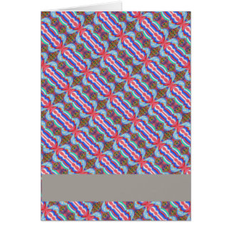 Red n Blue Light Sparkle Filament Pattern Greeting Cards