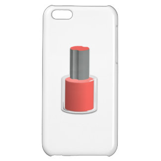 Red Nail Polish Case For iPhone 5C