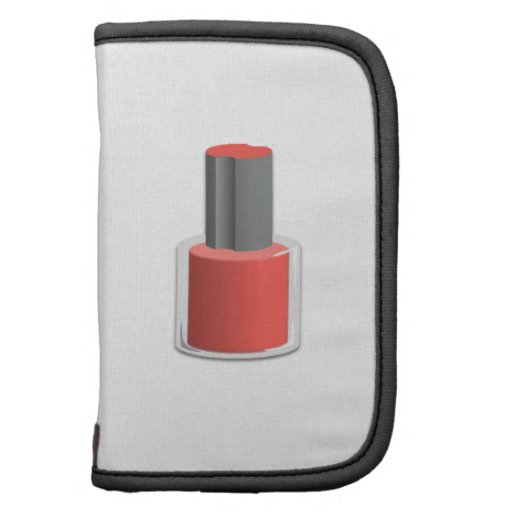 Red Nail Polish Planner