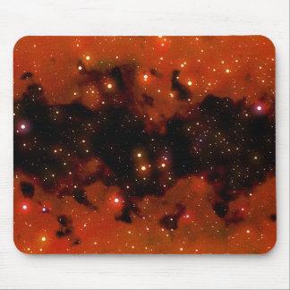 red nebula mousepad