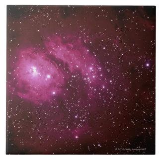 Red Nebula Tile