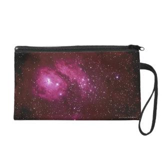 Red Nebula Wristlet