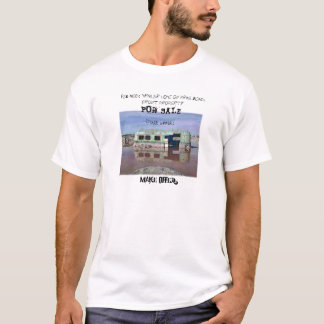 """""""Red Neck Beach Front Property"""" T-Shirt"""