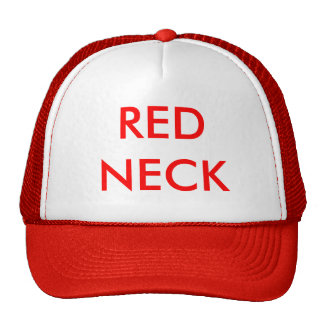 RED NECK MESH HATS