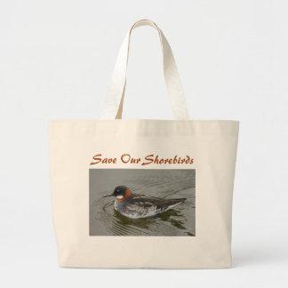 Red-Necked Phalarope Bag by RoseWrites