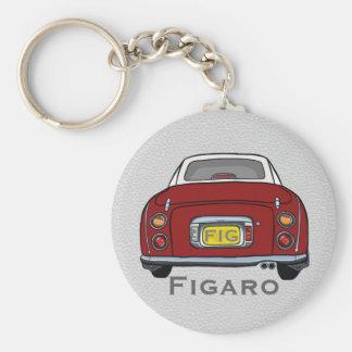 Red Nissan Figaro Car Custom Keyring