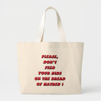 Red NO Bread of Hate Bags