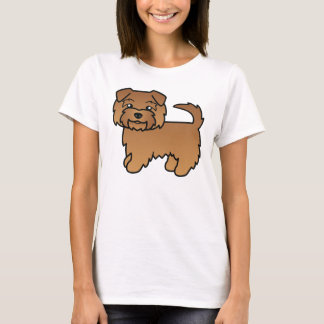Red Norfolk Terrier T-Shirt