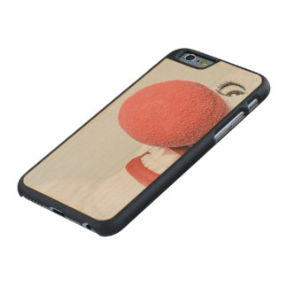 Red nose clown carved® maple iPhone 6 case