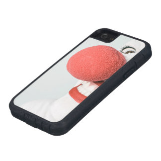 Red nose clown iPhone 5 cover