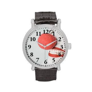 Red nose clown watch