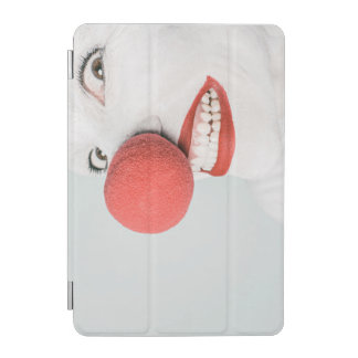Red nose clown iPad mini cover