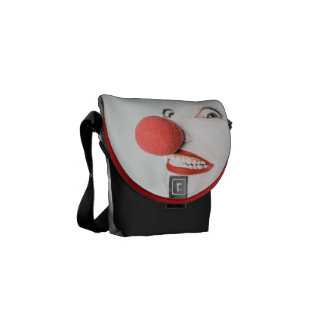 Red nose clown courier bag