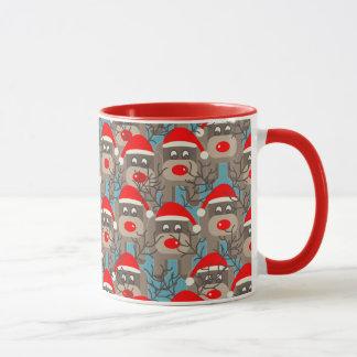 Red Nosed Reindeers Mug