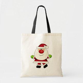 Red Nosed Santa Bag