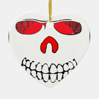 Red Nosed Smile Christmas Ornament