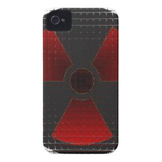 Red Nuke Glass for BB Blackberry Bold Cover