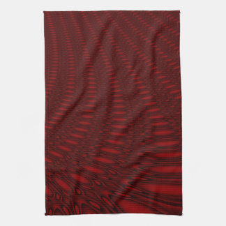 Red Octopus Tentacles Kitchen Towel