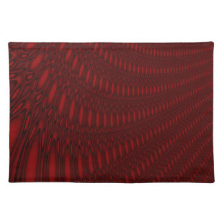 Red Octopus Tentacles Placemat