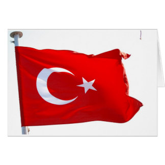 Red of Turkey Card
