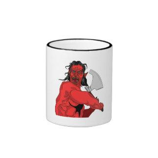 Red Ogre Coffee Mug