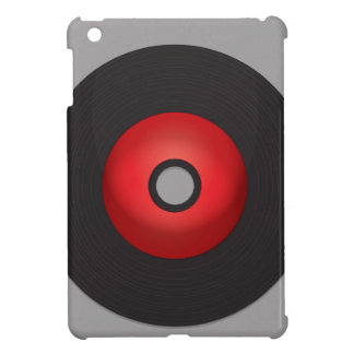 Red Old School Vinyl Record Case For The iPad Mini