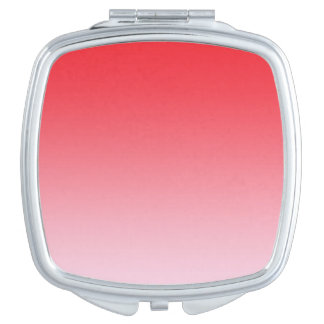 Red Ombre Mirror For Makeup