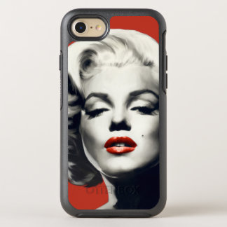 Red on Red Lips Marilyn OtterBox Symmetry iPhone 8/7 Case