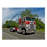 Red on Silver COE Poster