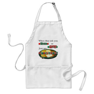 Red or Green... or Christmas? Standard Apron