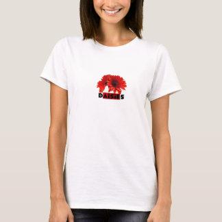 Red Orange Daisies T-Shirt