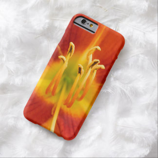Red orange flaming lily macro photo barely there iPhone 6 case