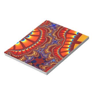 Red Orange Remix Notepad