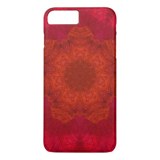 Red Orange Rich Colours Kaleidoscope Pattern iPhone 7 Plus Case