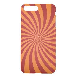 Red orange swirls iPhone 7 plus case