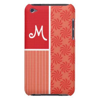 Red & Orange Swirls; Swirl iPod Touch Covers
